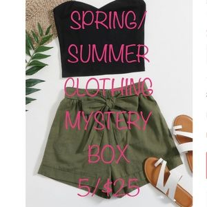Spring/Summer Clothing Mystery Box 5 Items $25